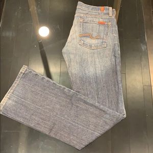 7 for all man kind jeans boot cut
